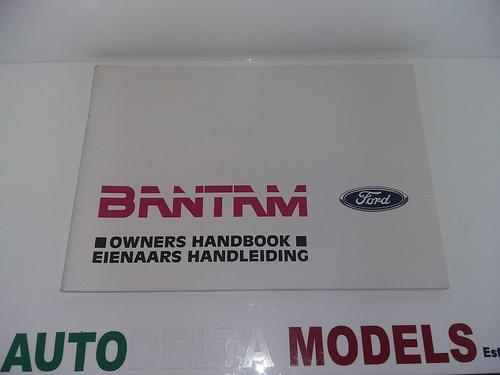 ford bantam 2005 workshop manual